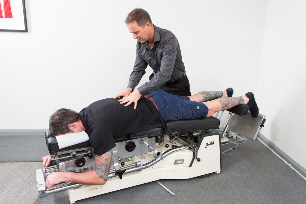 Dr. David Cahill of Cahill Chiropractic.